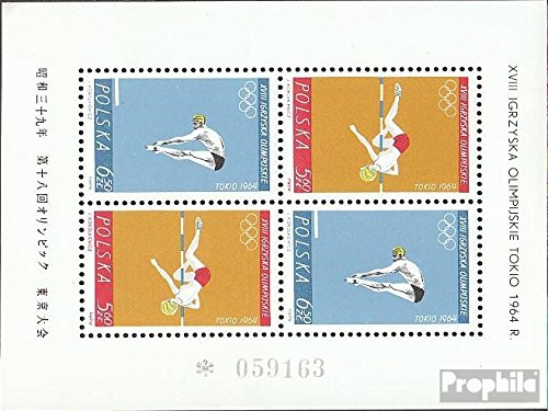 Poland block34 (Complete.Issue.) unmounted Mint/Never hinged 1964 Olympics Summer ´64 (Stamps for Collectors)