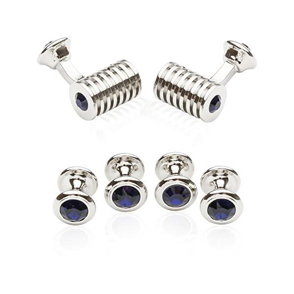 Silver-Blue-Swarovski-Barrel-Formal-Set-By-Jewelry-Mountain
