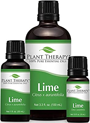 Lime Essential Oil. 100% Pure, Undiluted, Therapeutic Grade. by Plant Therapy Essential Oils