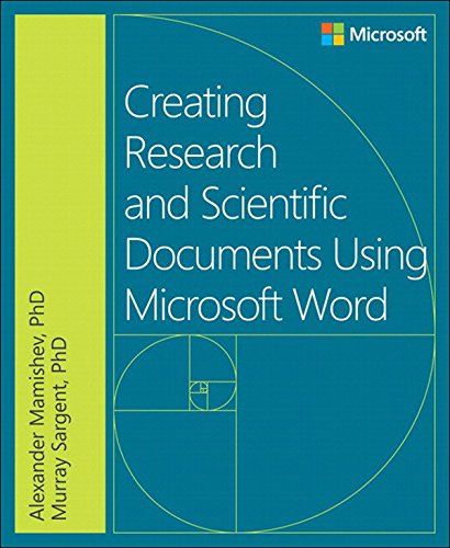 Creating Research and Scientific Documents Using Microsoft Word Pdf