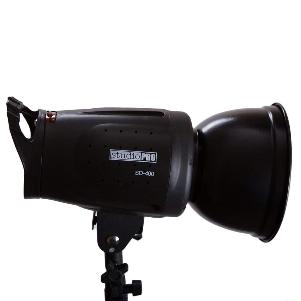 Fovitec - 1x SD-400 Photography Monolight with 7 inch Reflector and S-Type Bowens Style Mount - [400 Watt][Bowens Mount][110V/60Hz][5500K Lighting] by Fovitec