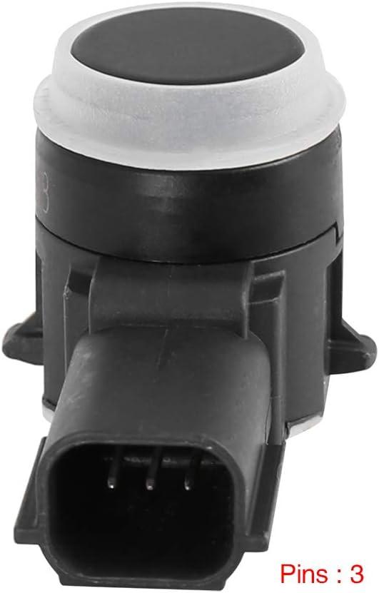 X AUTOHAUX 4pcs Car Reverse PDC Parking Assist Sensor 23428268 for 2014-2017 Chevy Silverado 1500 2014-2017 Chevy SS