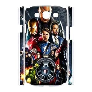 DIY Phone Cover Custom The Avengers For Samsung Galaxy S3 I9300 NQ2642377
