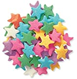 Oasis Supply Pastel Stars Sprinkle Quins, 8-Ounce