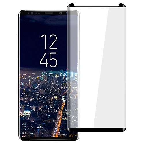 VitaVela Galaxy Note 8 HD Screen Protector, [3D Curved] [Case Friendly] [Anti-Scratch] 9H Hardness Tempered Glass Screen Protector,for Samsung Galaxy Note 8 (6.3