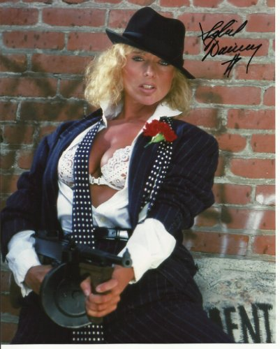 Sybil Danning hand-signed 8 x 10 photo C of A as mobster with white bra #10 ()