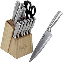 Oneida 14-Pc Stainless Steel Knife Block Set