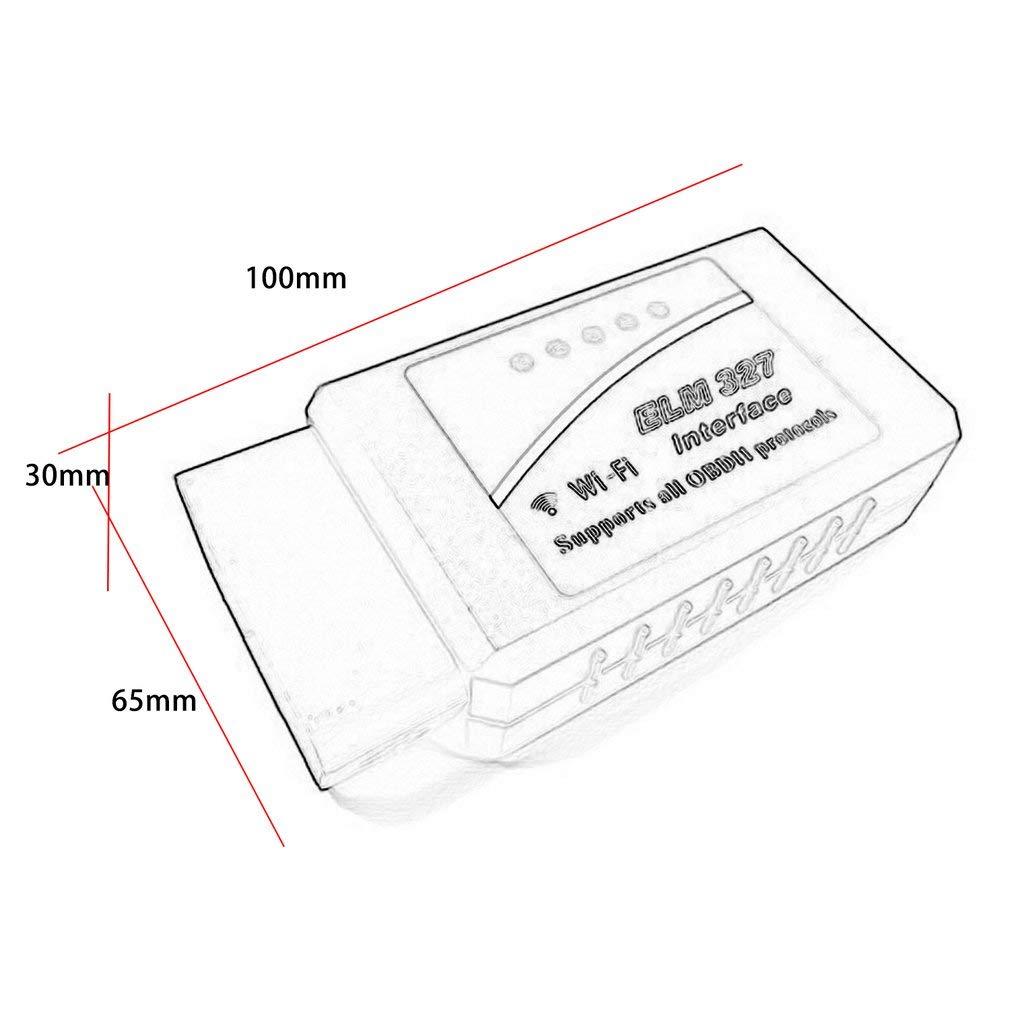 KinshopS WiFi V1.5 PIC18F25K80 Chip ELM327 rilevatore di guasti Auto OBD2 OBD