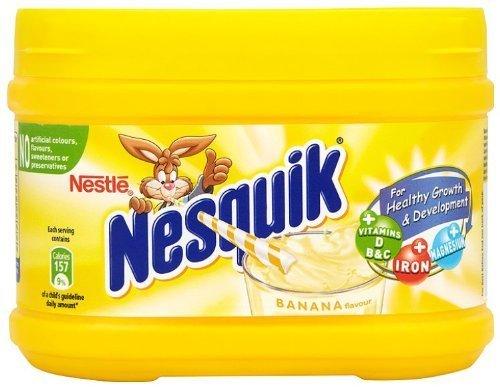 Nestle Nesquik Banana Flavor Milk Shake 300 G (2 - Banana Nesquik