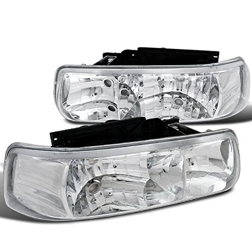 02 Chevrolet Silverado Euro Headlights - 1