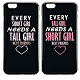 Best Iphone 5C Friend Case For Iphone 5s And Iphone 6s - FavorPlus BFF Short & Tall Girls Best Friends Review