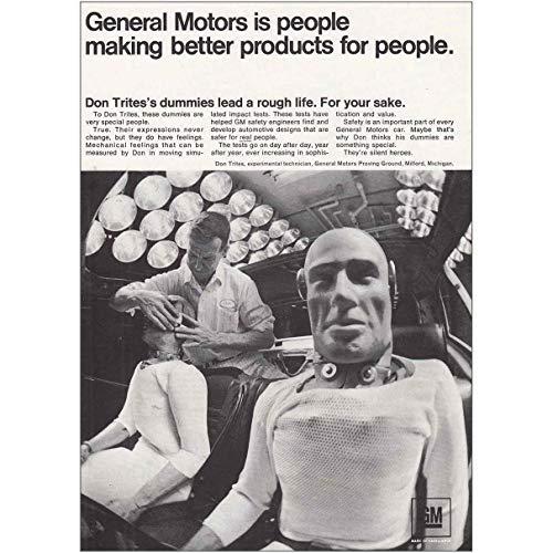 RelicPaper 1967 General Motors: Dummies, General Motors Print ()