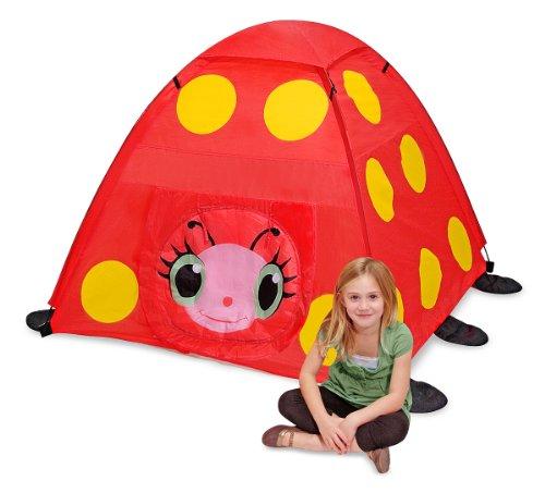 Melissa & Doug Sunny Patch Mollie Ladybug Camping - Play Tent Ladybug