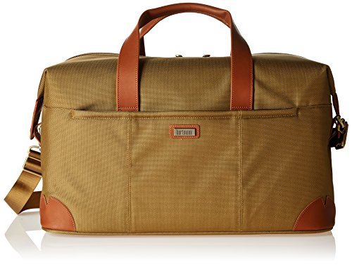 Hartmann Leather Duffel - Hartmann Ratio Classic Deluxe Weekend Duffel, Safari