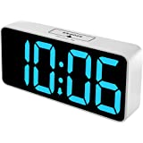 DreamSky Large Digital Alarm Clock with USB Port for Bedroom - 8.9 Inches Jumbo Big Alarm Clock for Vision Impaired, Fully Ad
