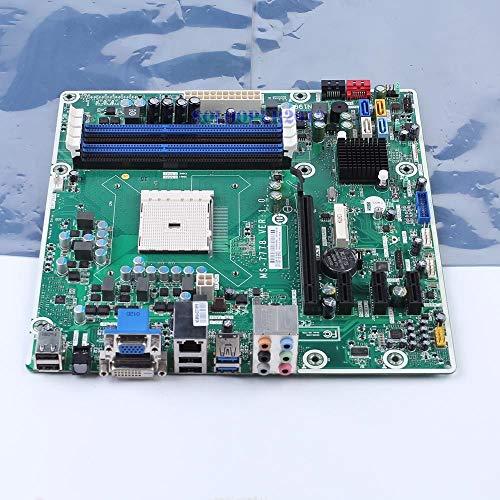 FidgetGear MS-7778 716188-001 Motherboard AMD A75 Socket FM2 DDR3 mATX DVI VGA USB3.0