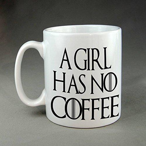 CASURI - A Girl Has No Coffee Mug Funny Meme Cute Kitten MUG 15oz