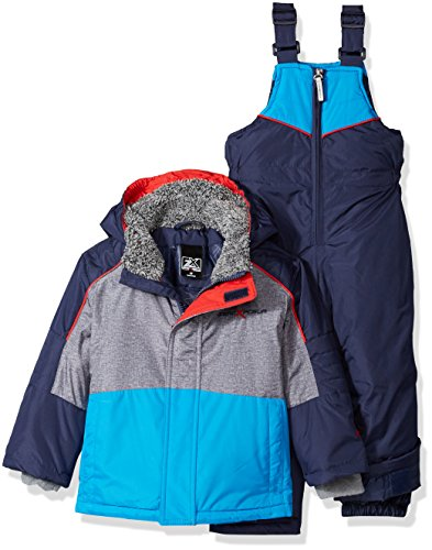 ZeroXposur Toddler Boys' Bender Snowsuit, Navy, 2T