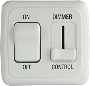 White JR PRODUCTS Dimmer On//Off Switch P//N 12065