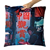 Westlake Art - Restaurant People - Decorative Throw Pillow Cushion - Picture Photography Artwork Home Decor Living Room - 18x18 Inch (809CD)