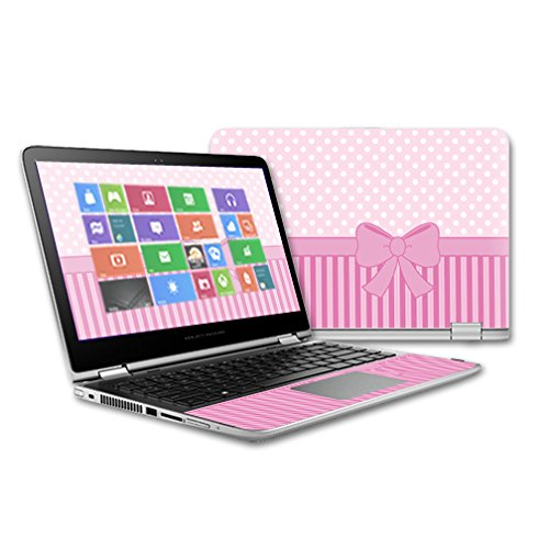 ve Vinyl Skin Decal for HP Pavilion x360-13 (2015) Touch Laptop case wrap Cover Sticker Skins Pink Present ()