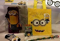 Minions Back to School - activity gift set - 5 piece set