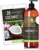 Fractionated Coconut Oil Carrier Oil, Liquid 16 Oz