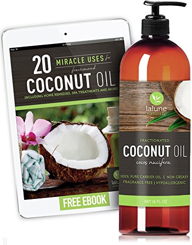 Fractionated Coconut Oil Carrier Oil, Liquid 16 - Websites Glasses Good