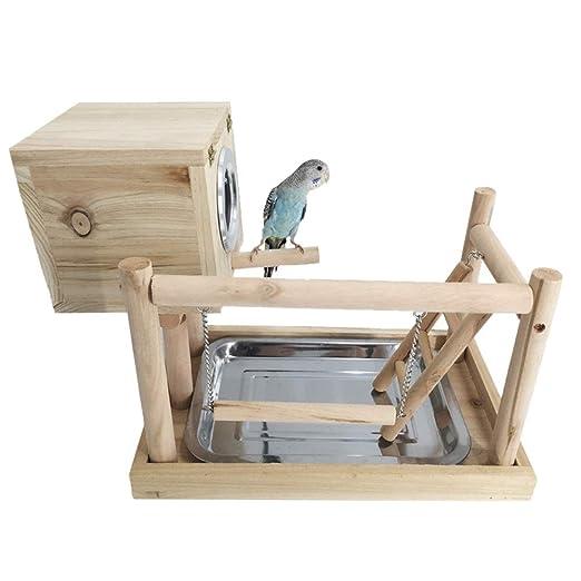 Zona de juegos para pájaros Loro Parque infantil soporte la piel ...