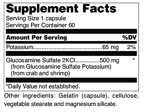 Douglas Laboratories® - Glucosamine Sulfate 500 mg. - Absorbable Formula Supports Synthesis and Maintenance of Connective Tissue* - 60 Capsules by Douglas Laboratories (Image #2)