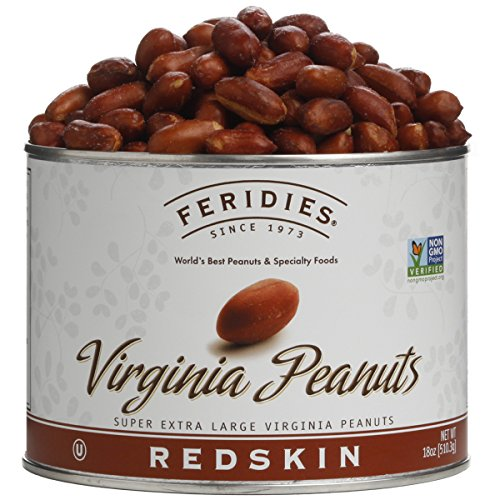FERIDIES Redskin Virginia Peanuts, 18 Ounce Can ()