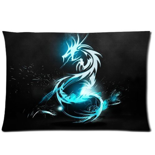 Price comparison product image Cute Design Standard Size 20x30 Two Side Print DIY Western Dragon Cool Picture For Children Pillowcases Protector gift for kids-7