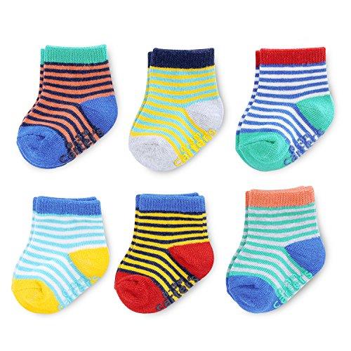 Baby Boy Crew Socks (6 Pack)