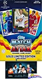 #9: 2017/18 Topps Match Attax Champions League Soccer Starter Box with 39 Cards Including EXCLUSIVE GOLD Limited Edition RONALDO & 2 Goalkeeper Cards! PLUS Game Mat & Rules with BONUS Lionel Messi Pack!