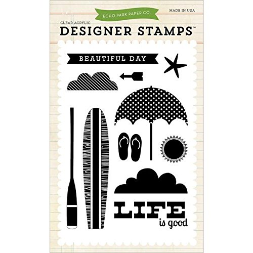any EPStamp2 Beach Day Stamp Set Scrapbook ()