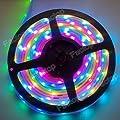Factop Light Strip Waterproof 5M IC6803 5050 Dream Magic RGB LED Strip 133 Color Change