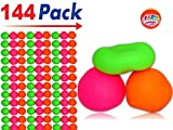 JA-RU Stretchy Ball (Pack of 144) Soft Bounce Stress Ball Pull and Stretch | Item #401-144