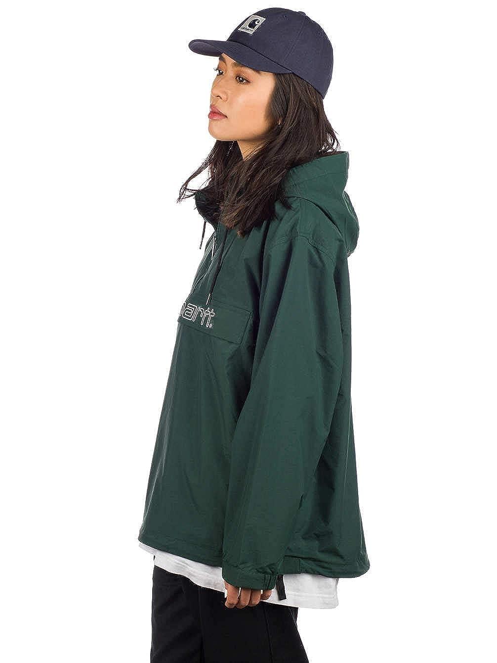 Chaqueta Carhartt Script Pullover Verde Mujer: Amazon.es ...