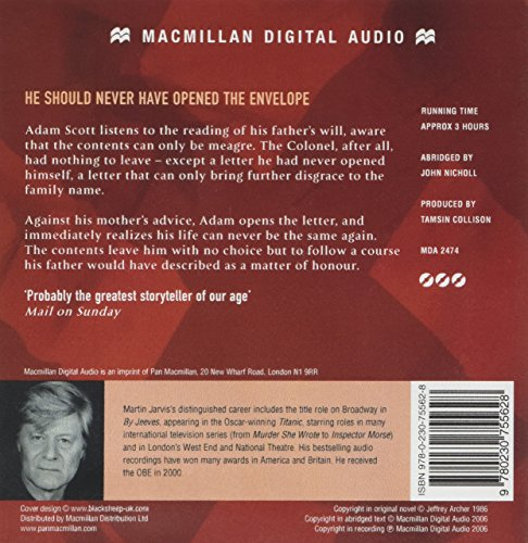 A Matter of Honour Bargain CD
