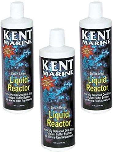 (3 Pack) Kent Marine Liquid Calcium Reactor, 16-Ounce Bottles