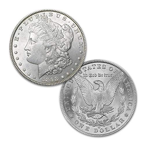 (1898 O Morgan Silver Dollar $1 Brilliant Uncirculated)