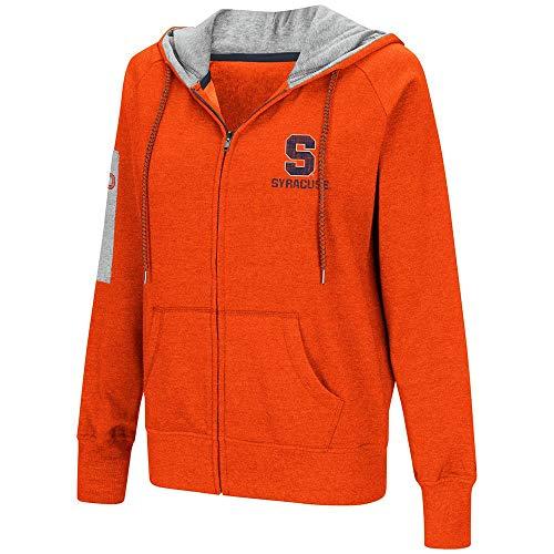 Colosseum Womens Syracuse Orange Full-Zip Hoodie - S