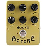 OUTLIFE JOYO True Bypass Design AC Tone Vox Amp Simulator Electric Guitar Effect Pedal (GOLDEN)