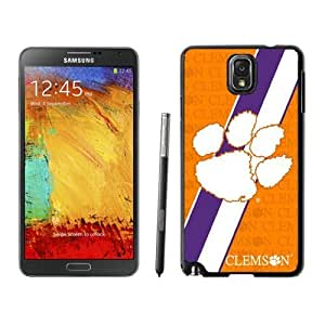 Customized Designer Sports Samsung Galaxy Note 3 Case Ncaa ACC Atlantic Coast Conference Clemson Tigers 02