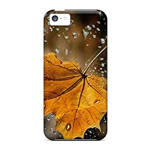 For Iphone 5c Protector Case Leaf Phone Cover
