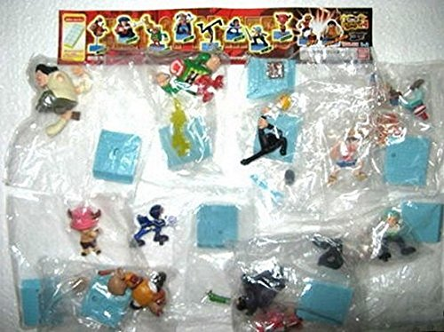 One Piece Grand Battle Part 4 Gashapon Figure Complete Set of 10