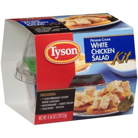 Tyson White Chicken Salad Kit