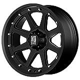 xd series rims 18 - XD Series by KMC Wheels XD798 Addict Matte Black Wheel (18x9