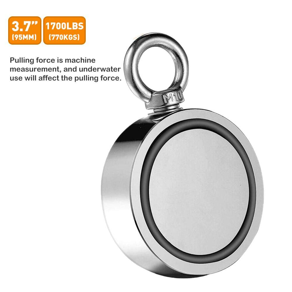 AA-fashion Strong Double-Sided Magnetic Ring Strong Magnetic Ring Salvage Double-Sided Magnet Magnetic Hook