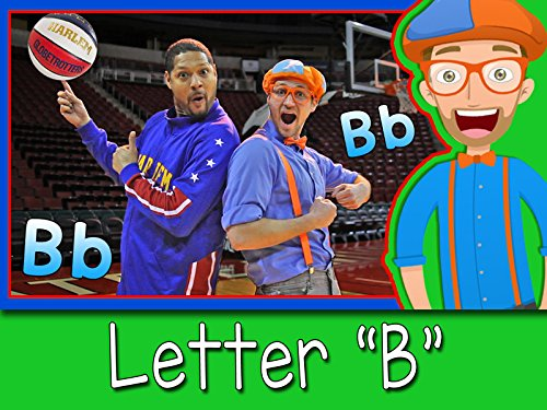 Learn Letters with Blippi - The Letter B